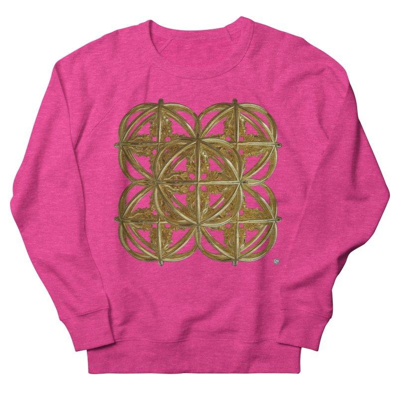 56 Dorje Object Gold v1 Men's French Terry Sweatshirt by diamondheart's Artist Shop