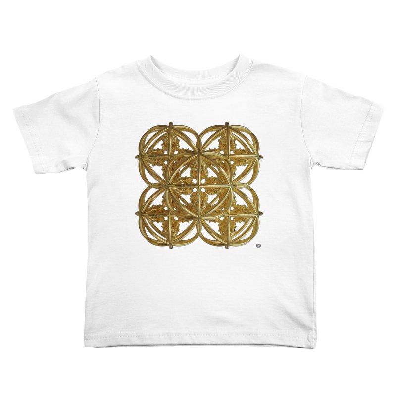56 Dorje Object Gold v1 Kids Toddler T-Shirt by diamondheart's Artist Shop