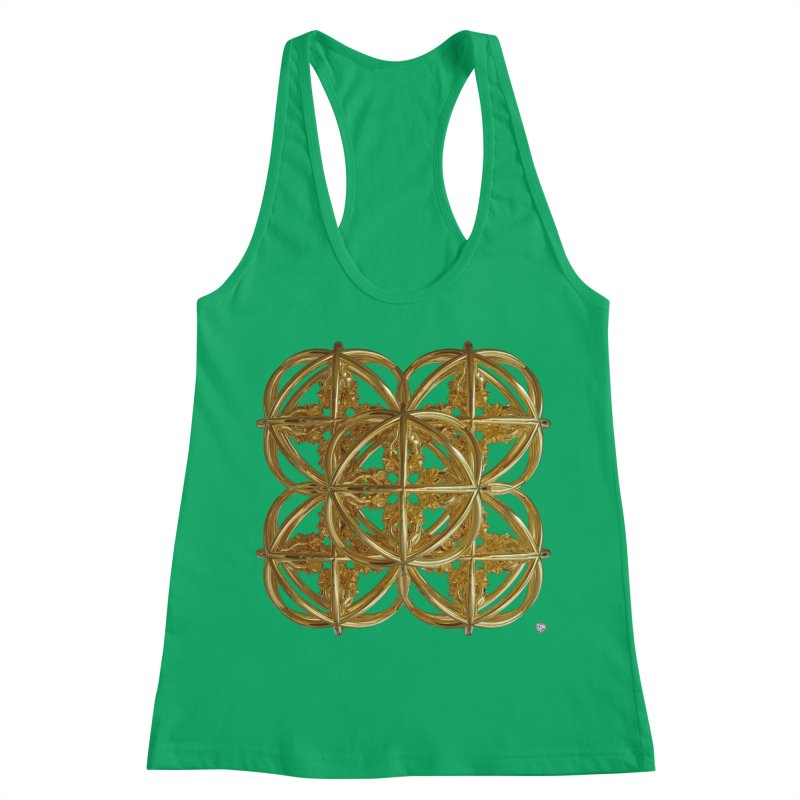 56 Dorje Object Gold v1 Women's Tank by diamondheart's Artist Shop