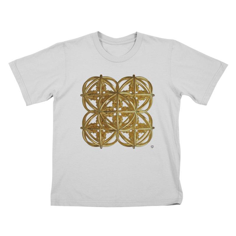 56 Dorje Object Gold v1 Kids T-Shirt by diamondheart's Artist Shop