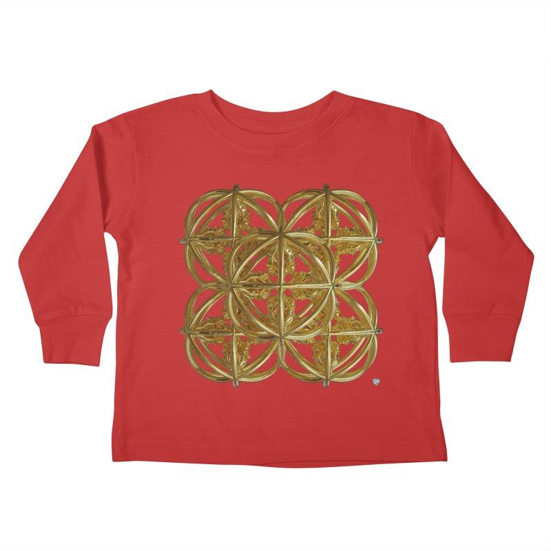 56 Dorje Object Gold v1 Kids Toddler Longsleeve T-Shirt by diamondheart's Artist Shop