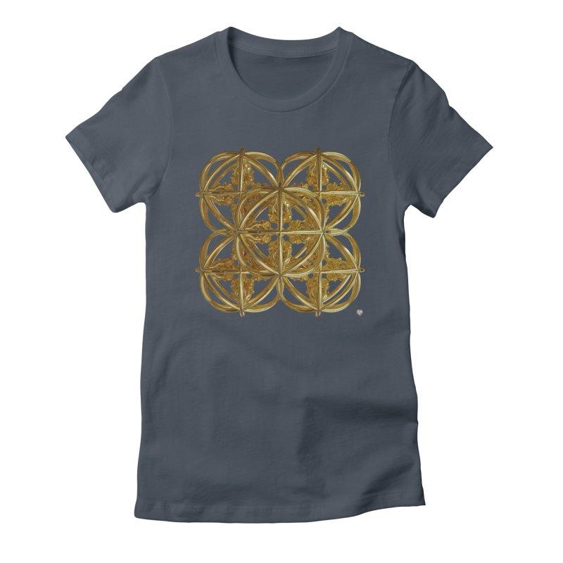 56 Dorje Object Gold v1 Women's T-Shirt by diamondheart's Artist Shop