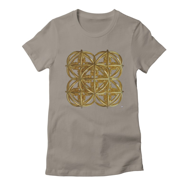 56 Dorje Object Gold v1 Women's Fitted T-Shirt by diamondheart's Artist Shop
