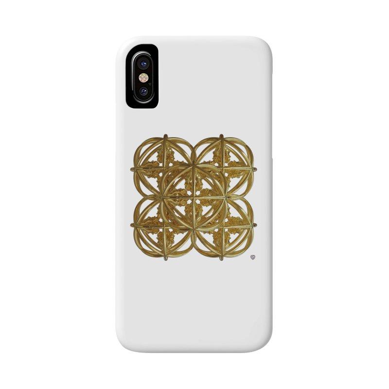 56 Dorje Object Gold v1 Accessories Phone Case by diamondheart's Artist Shop