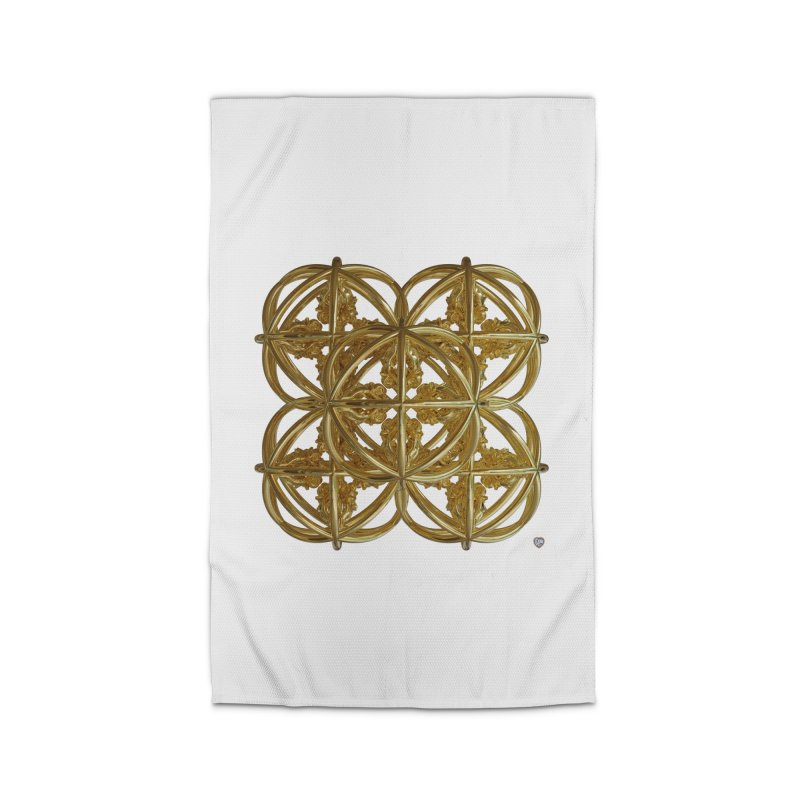 56 Dorje Object Gold v1 Home Rug by diamondheart's Artist Shop