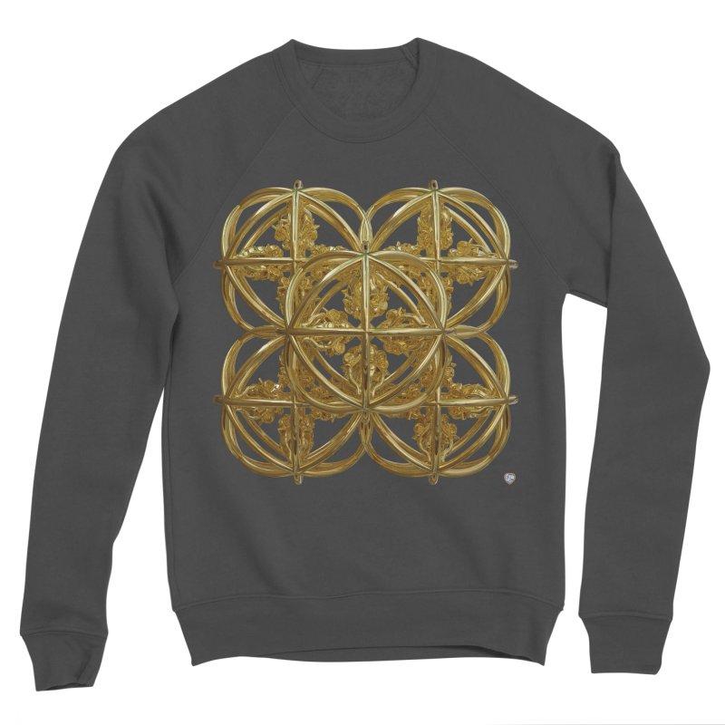 56 Dorje Object Gold Women's Sponge Fleece Sweatshirt by diamondheart's Artist Shop
