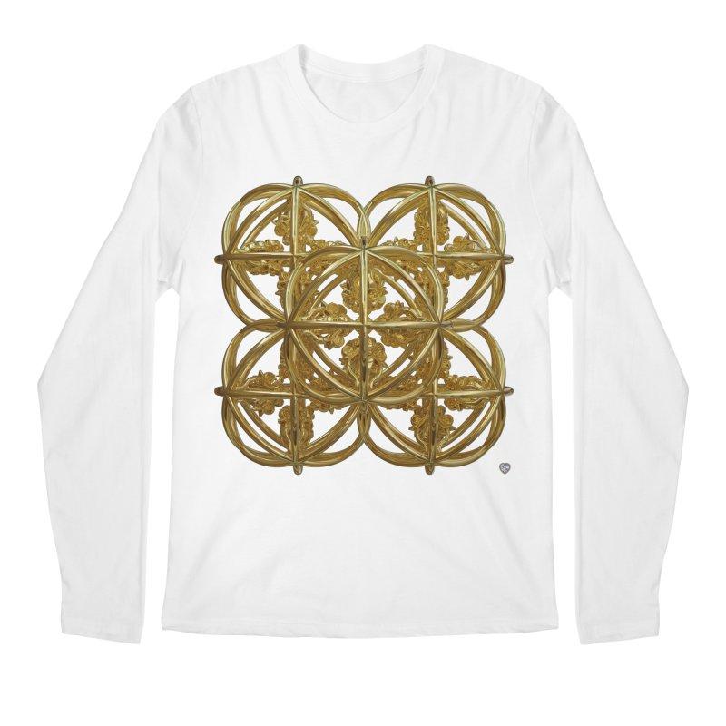 56 Dorje Object Gold Men's Regular Longsleeve T-Shirt by diamondheart's Artist Shop