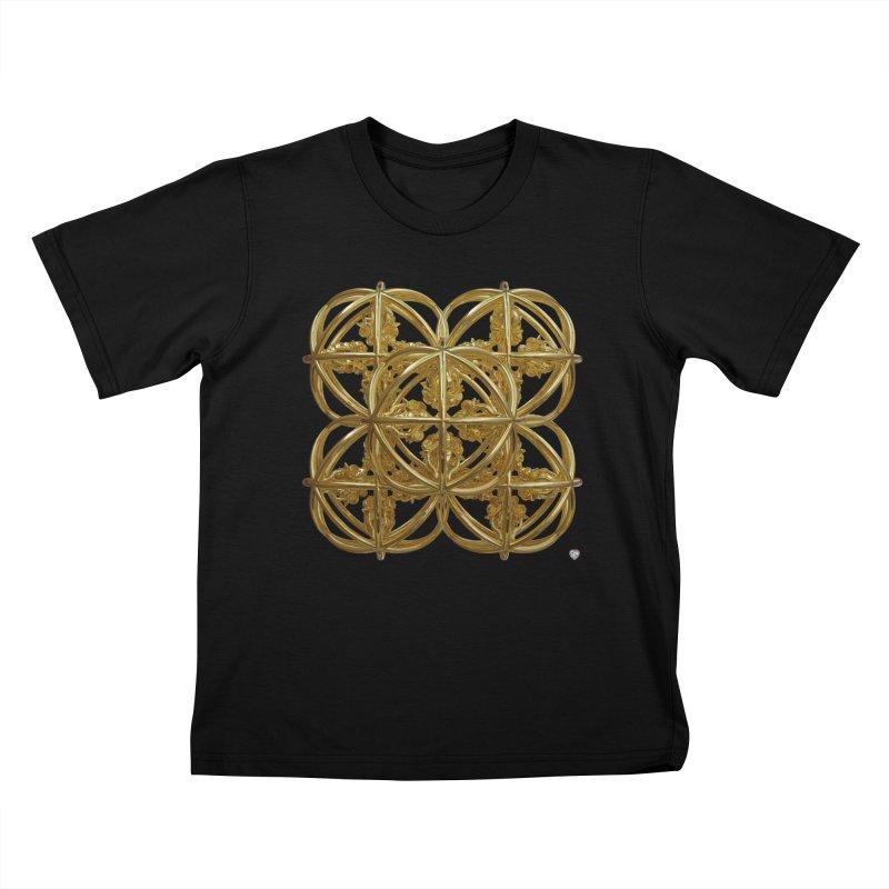 56 Dorje Object Gold Kids T-Shirt by diamondheart's Artist Shop