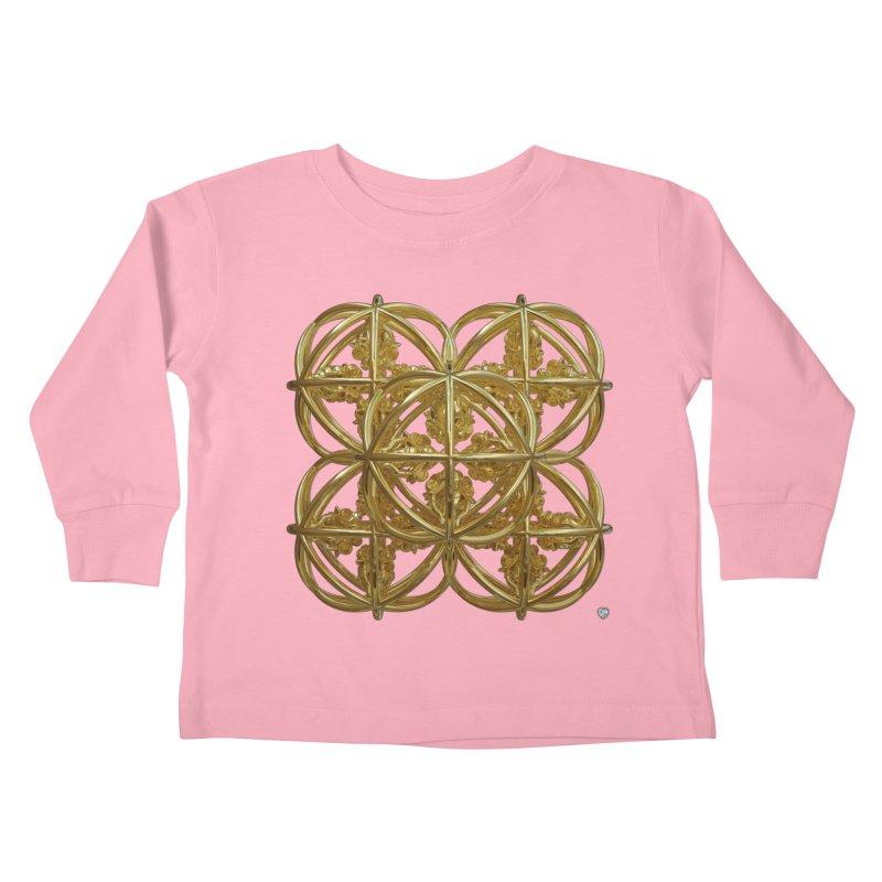 56 Dorje Object Gold Kids Toddler Longsleeve T-Shirt by diamondheart's Artist Shop