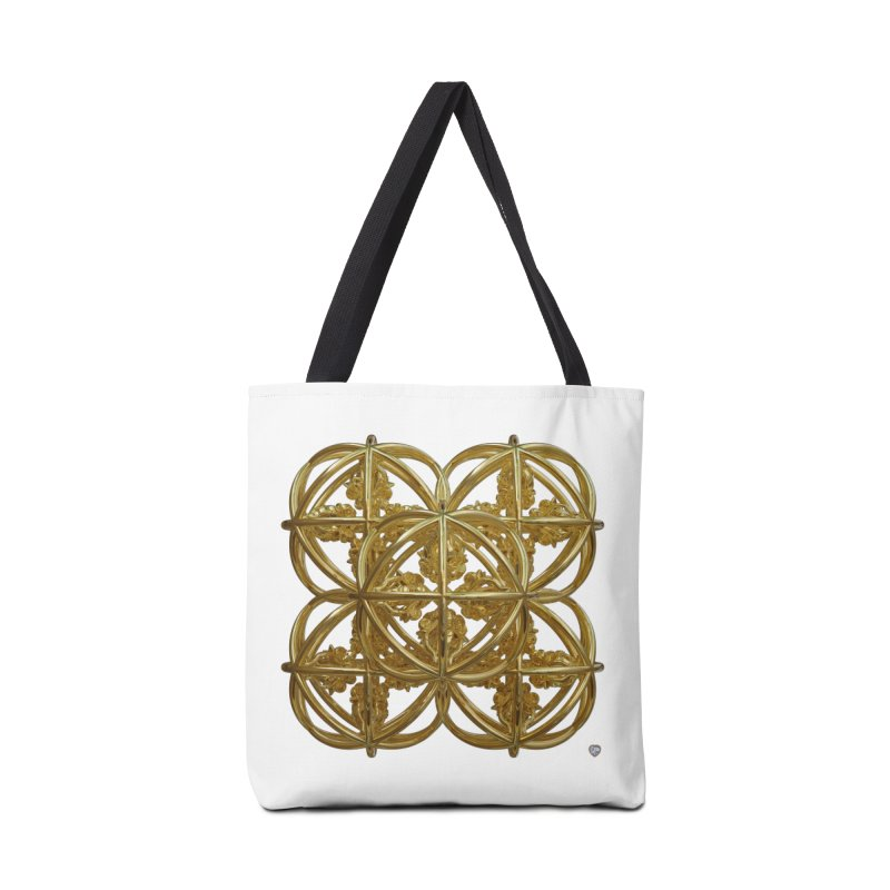56 Dorje Object Gold Accessories Bag by diamondheart's Artist Shop