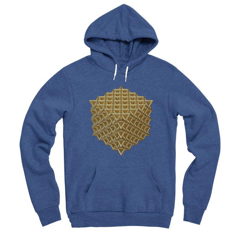 512 Tetrahedron Gold Women's Sponge Fleece Pullover Hoody by diamondheart's Artist Shop