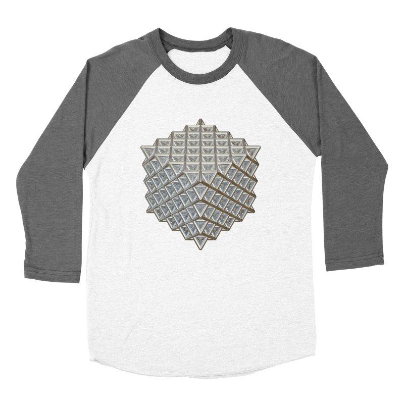 512 Tetrahedron Silver Women's Longsleeve T-Shirt by diamondheart's Artist Shop