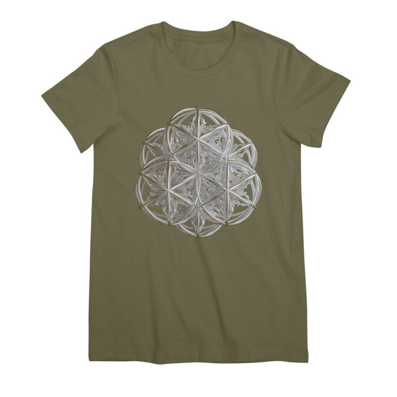 56 Dorje Object Silver v2 Women's Premium T-Shirt by diamondheart's Artist Shop