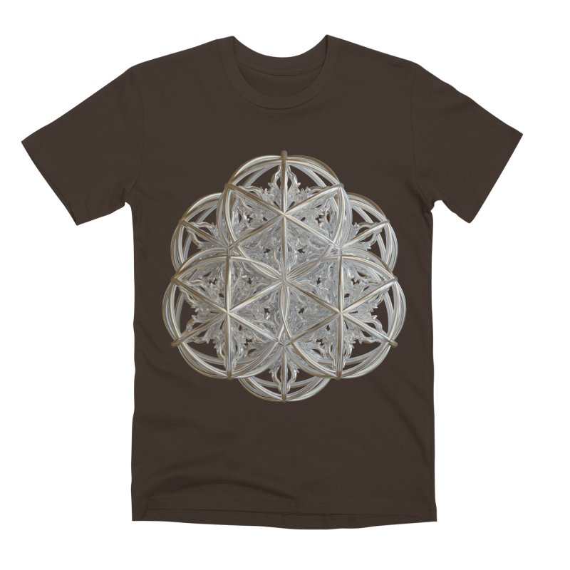 56 Dorje Object Silver v2 Men's Premium T-Shirt by diamondheart's Artist Shop