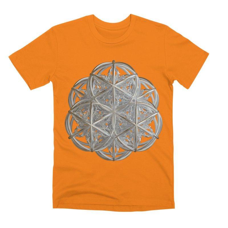 56 Dorje Object Silver v2 Men's Premium T-Shirt by diamondheart's Artist Shop