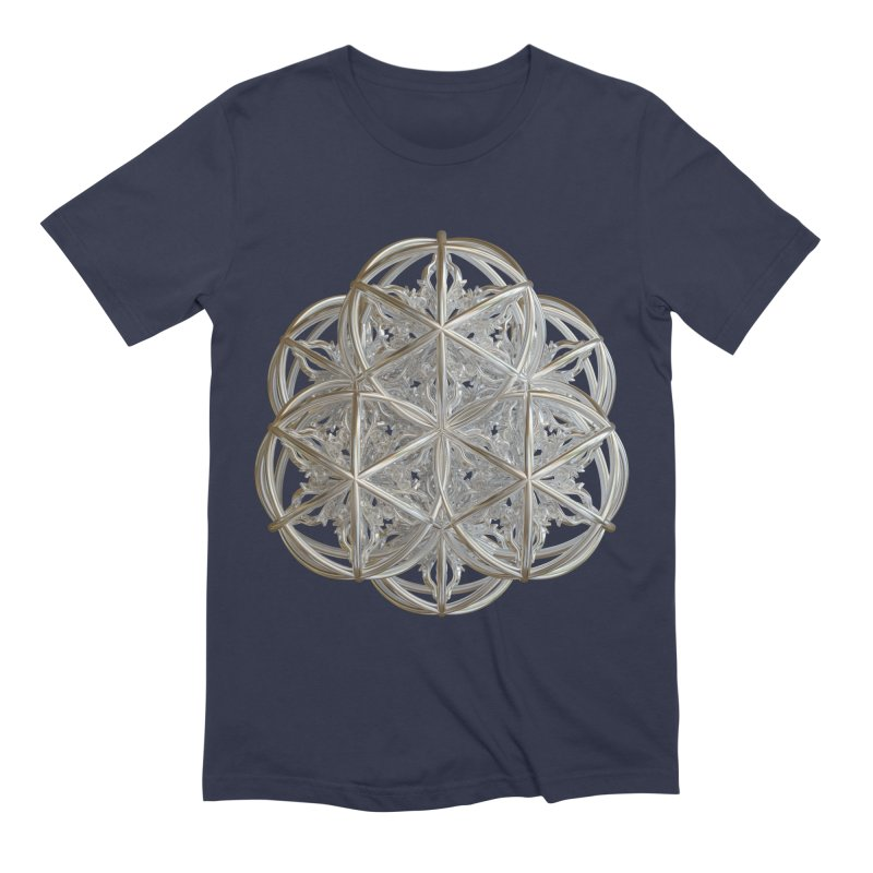 56 Dorje Object Silver v2 Men's Extra Soft T-Shirt by diamondheart's Artist Shop