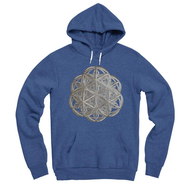 56 Dorje Object Silver v2 Men's Sponge Fleece Pullover Hoody by diamondheart's Artist Shop