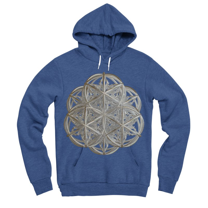 56 Dorje Object Silver v2 Men's Sponge Fleece Pullover Hoody by diamondheart's Artist Shop