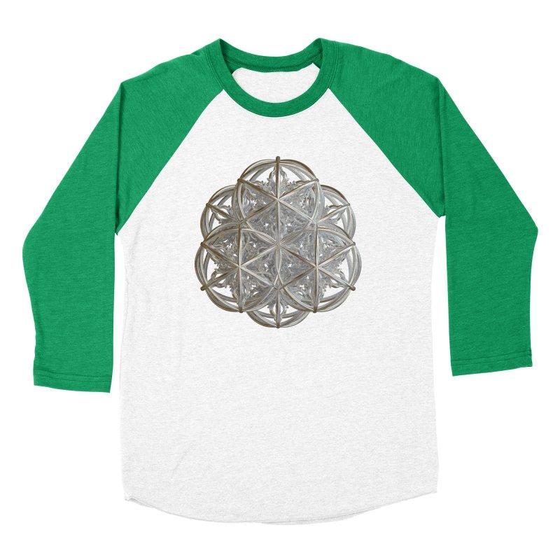 56 Dorje Object Silver v2 Women's Baseball Triblend Longsleeve T-Shirt by diamondheart's Artist Shop