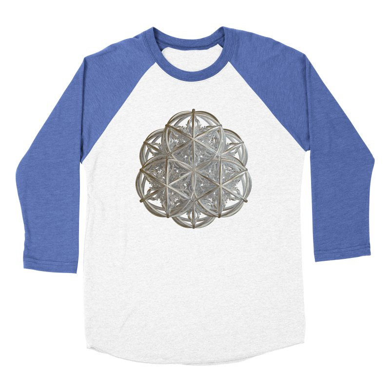 56 Dorje Object Silver v2 Men's Baseball Triblend Longsleeve T-Shirt by diamondheart's Artist Shop