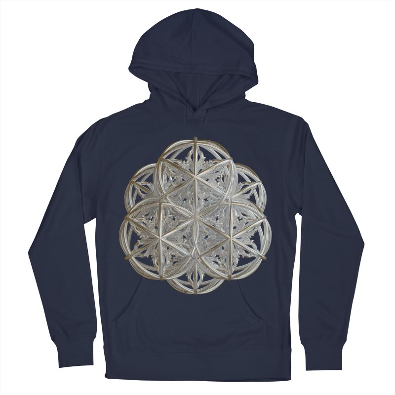 56 Dorje Object Silver v2 Men's French Terry Pullover Hoody by diamondheart's Artist Shop