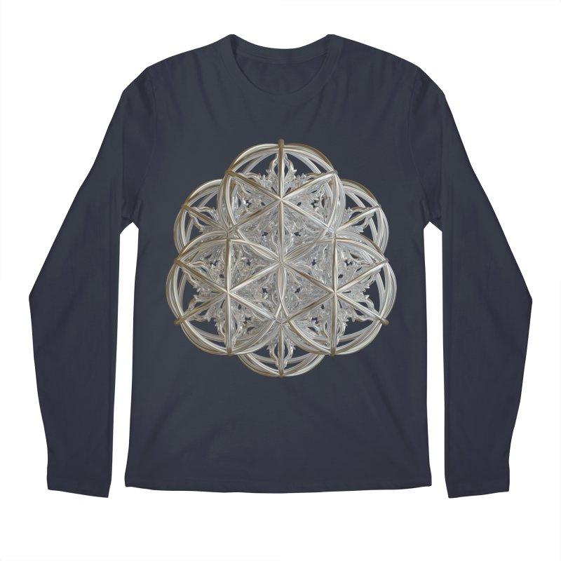 56 Dorje Object Silver v2 Men's Regular Longsleeve T-Shirt by diamondheart's Artist Shop