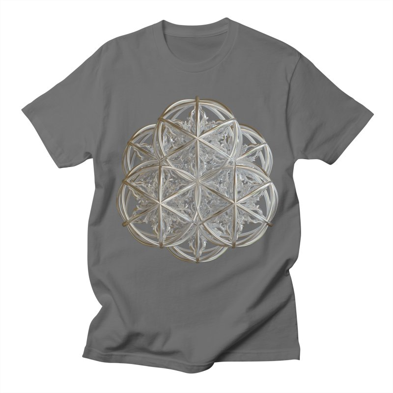 56 Dorje Object Silver v2 Men's T-Shirt by diamondheart's Artist Shop