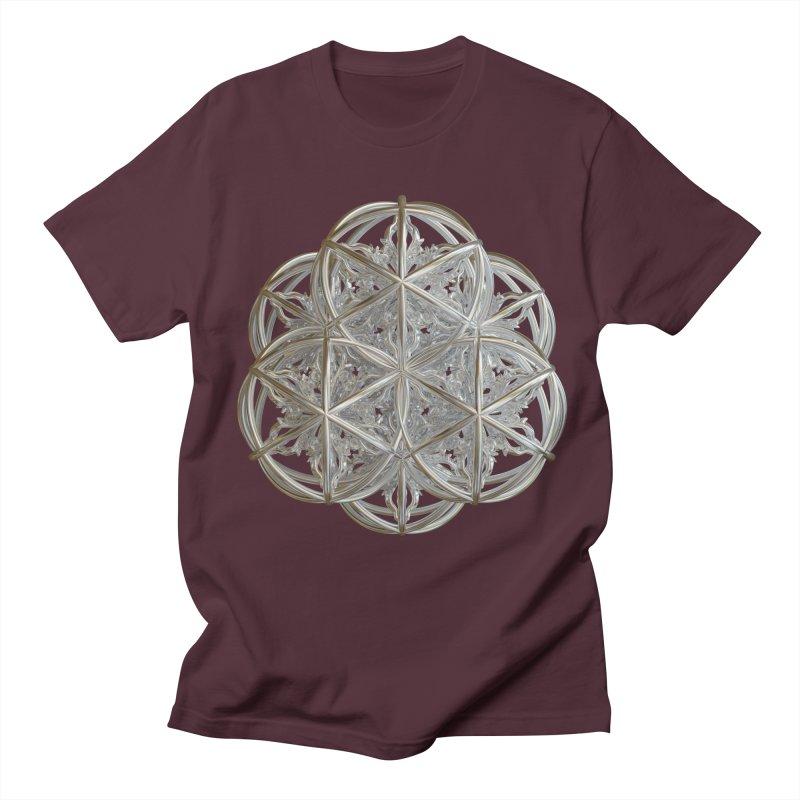 56 Dorje Object Silver v2 Men's T-Shirt by diamondheart's Artist Shop