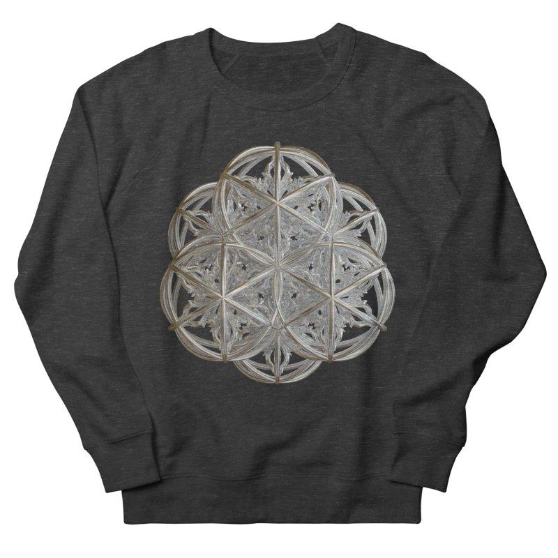 56 Dorje Object Silver v2 Men's French Terry Sweatshirt by diamondheart's Artist Shop