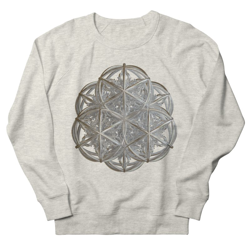 56 Dorje Object Silver v2 Men's French Terry Sweatshirt by diamondheart's Artist Shop