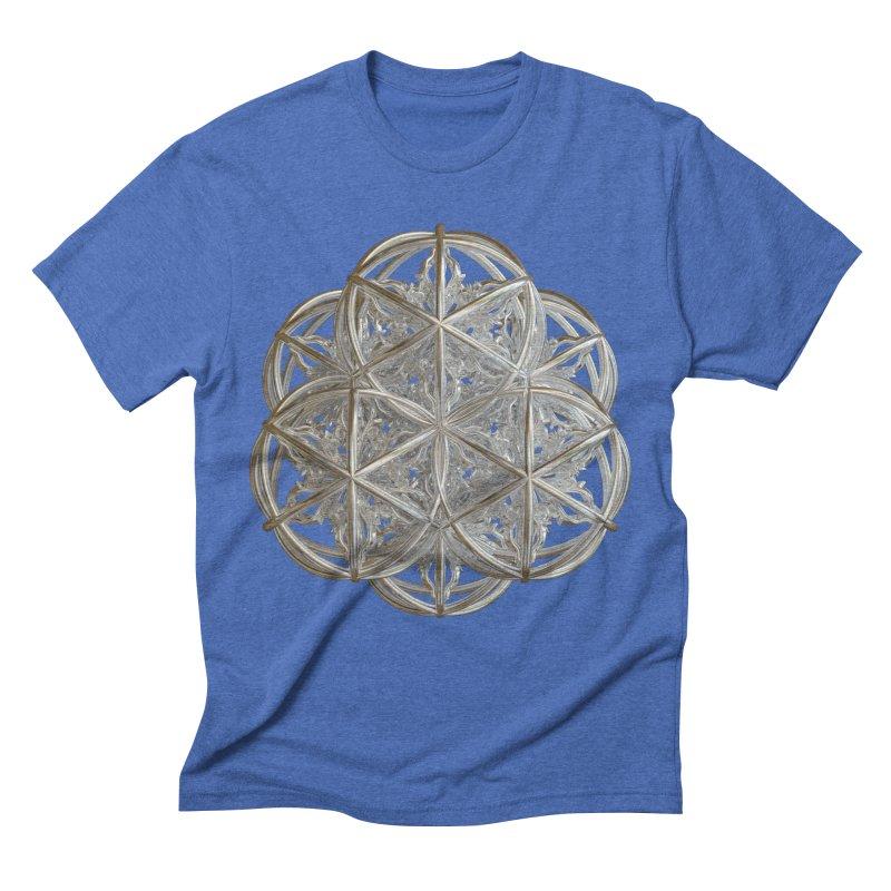 56 Dorje Object Silver v2 Men's Triblend T-Shirt by diamondheart's Artist Shop