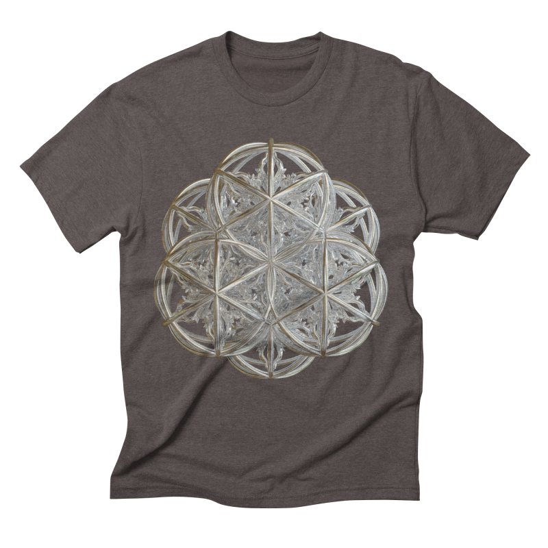 56 Dorje Object Silver v2 Men's Triblend T-Shirt by diamondheart's Artist Shop