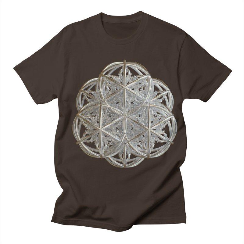 56 Dorje Object Silver v2 Men's Regular T-Shirt by diamondheart's Artist Shop