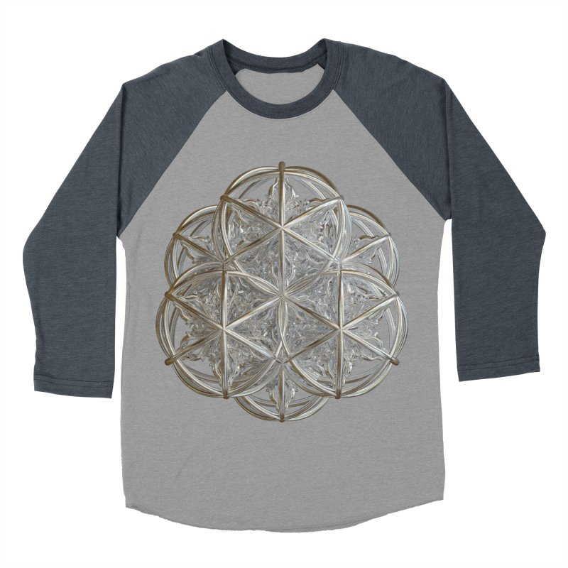56 Dorje Object Silver v2 Women's Baseball Triblend Longsleeve T-Shirt by diamondheart's Artist Shop