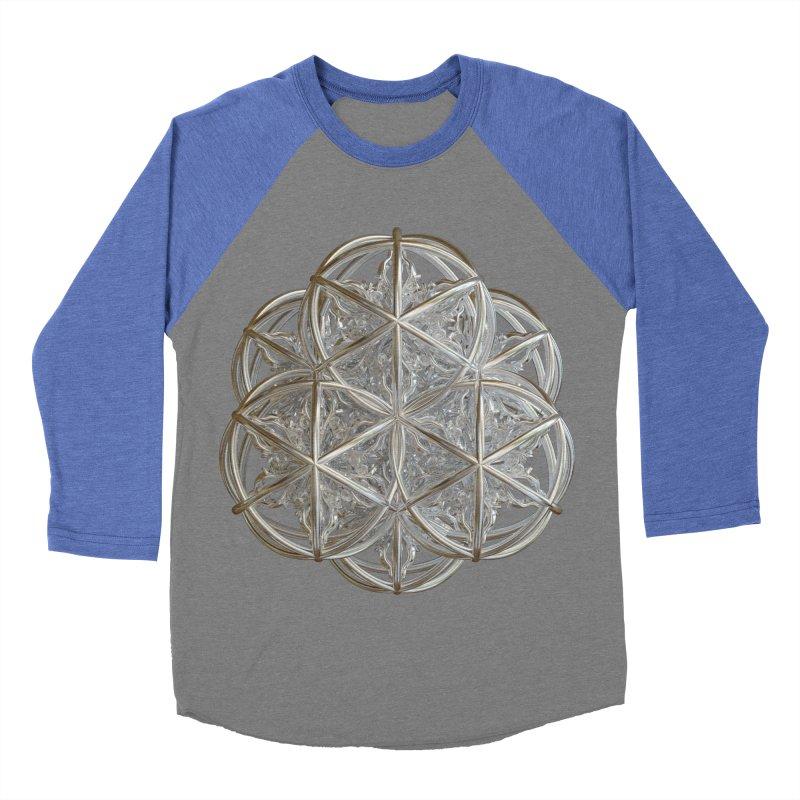 56 Dorje Object Silver v2 Men's Baseball Triblend Longsleeve T-Shirt by diamondheart's Artist Shop