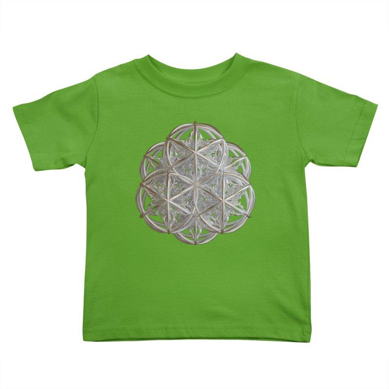 56 Dorje Object Silver v2 Kids Toddler T-Shirt by diamondheart's Artist Shop