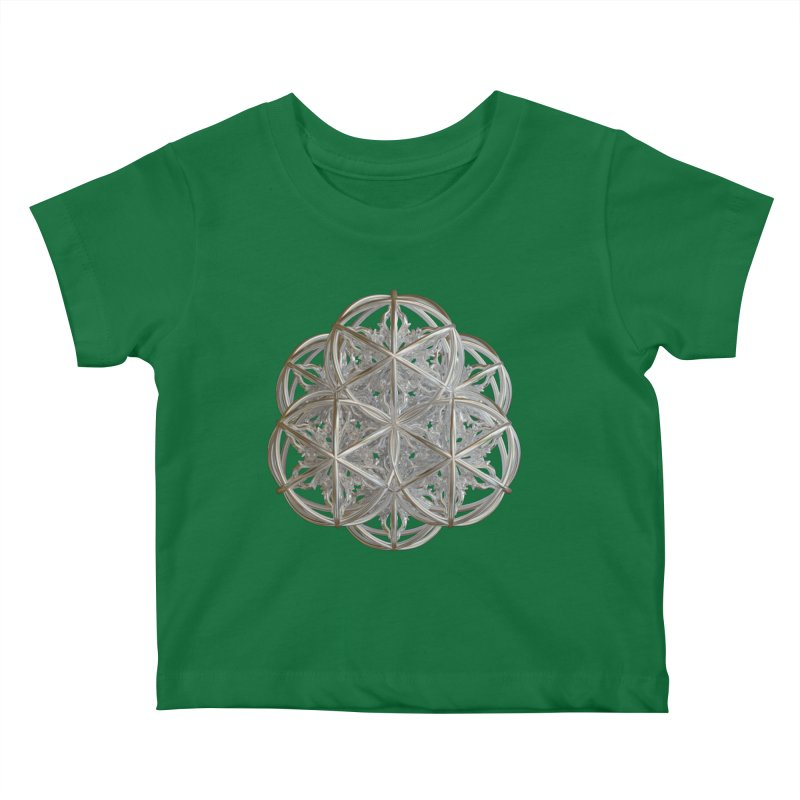 56 Dorje Object Silver v2 Kids Baby T-Shirt by diamondheart's Artist Shop