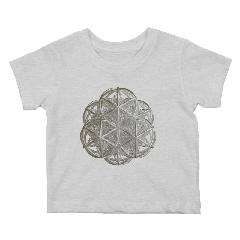 56 Dorje Object Silver v2 Kids Baby T-Shirt by diamondheart's Artist Shop