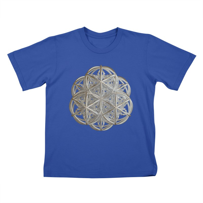 56 Dorje Object Silver v2 Kids T-Shirt by diamondheart's Artist Shop