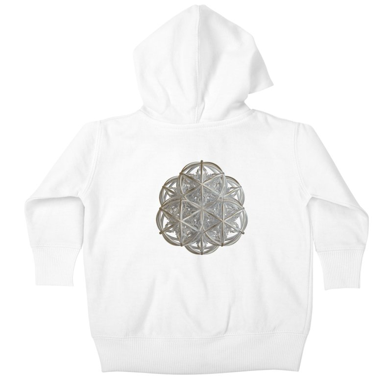 56 Dorje Object Silver v2 Kids Baby Zip-Up Hoody by diamondheart's Artist Shop