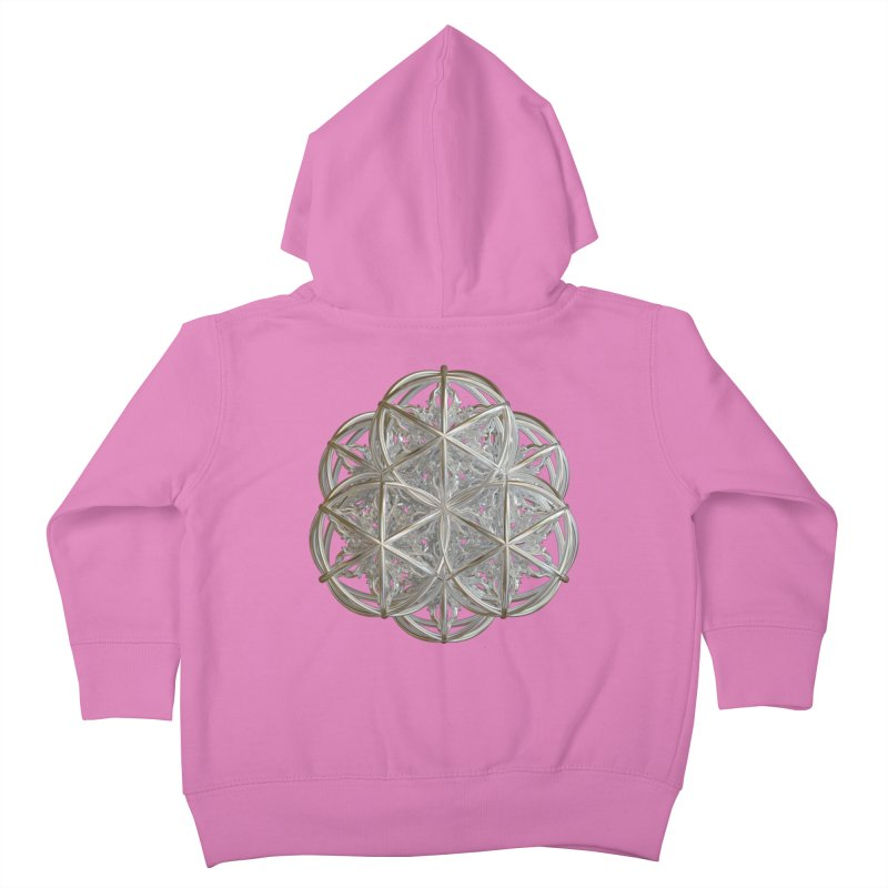 56 Dorje Object Silver v2 Kids Toddler Zip-Up Hoody by diamondheart's Artist Shop