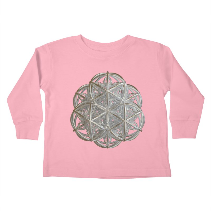 56 Dorje Object Silver v2 Kids Toddler Longsleeve T-Shirt by diamondheart's Artist Shop