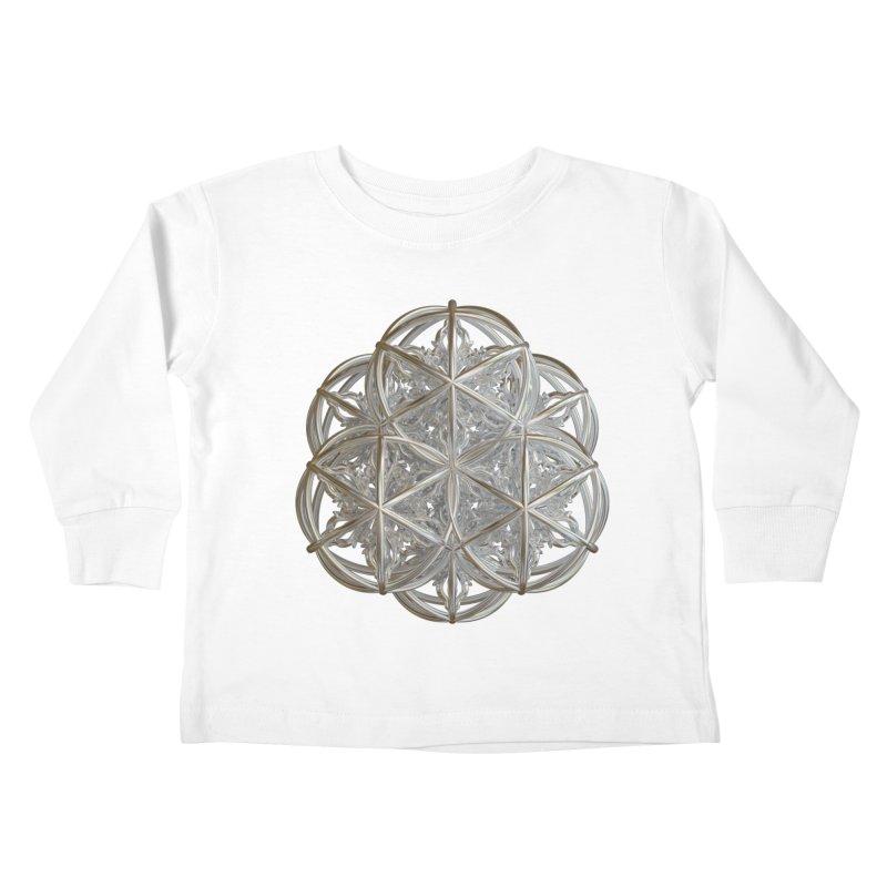 56 Dorje Object Silver v2 Kids Toddler Longsleeve T-Shirt by diamondheart's Artist Shop