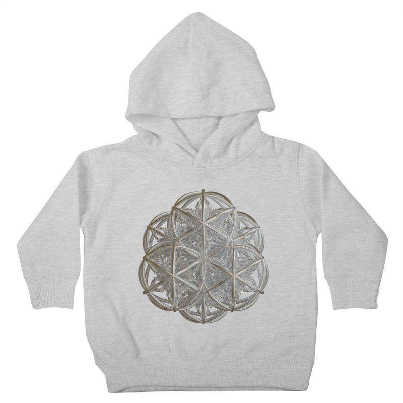 56 Dorje Object Silver v2 Kids Toddler Pullover Hoody by diamondheart's Artist Shop
