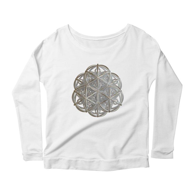 56 Dorje Object Silver v2 Women's Scoop Neck Longsleeve T-Shirt by diamondheart's Artist Shop