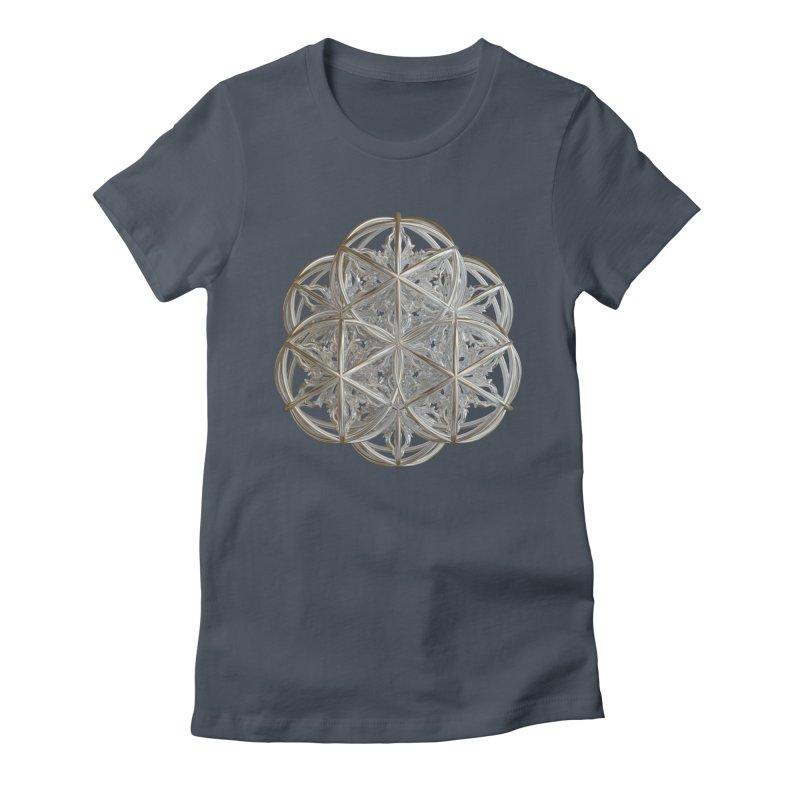 56 Dorje Object Silver v2 Women's Fitted T-Shirt by diamondheart's Artist Shop