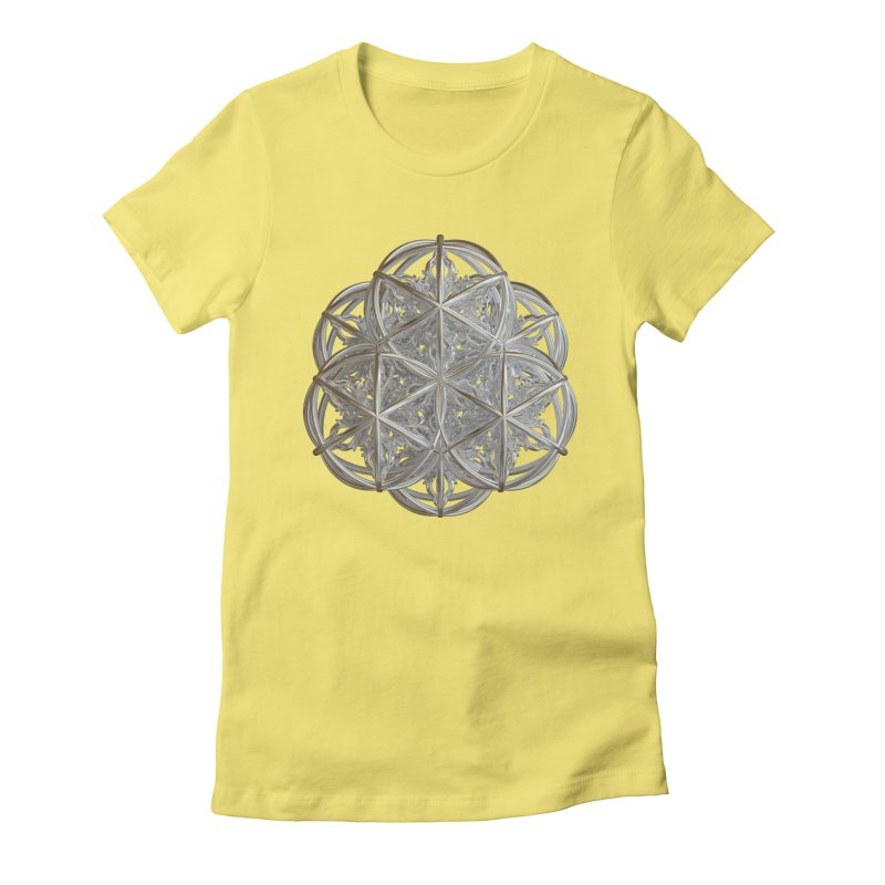 56 Dorje Object Silver v2 Women's Fitted T-Shirt by diamondheart's Artist Shop
