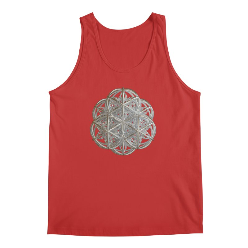 56 Dorje Object Silver v2 Men's Regular Tank by diamondheart's Artist Shop