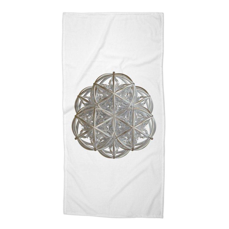 56 Dorje Object Silver v2 Accessories Beach Towel by diamondheart's Artist Shop