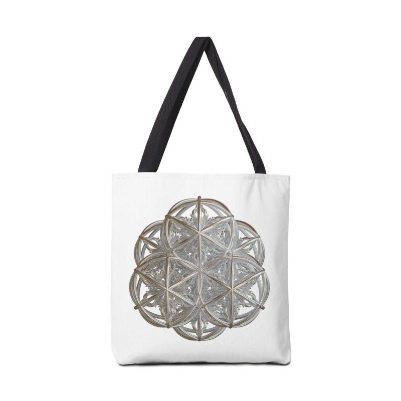 56 Dorje Object Silver v2 Accessories Tote Bag Bag by diamondheart's Artist Shop